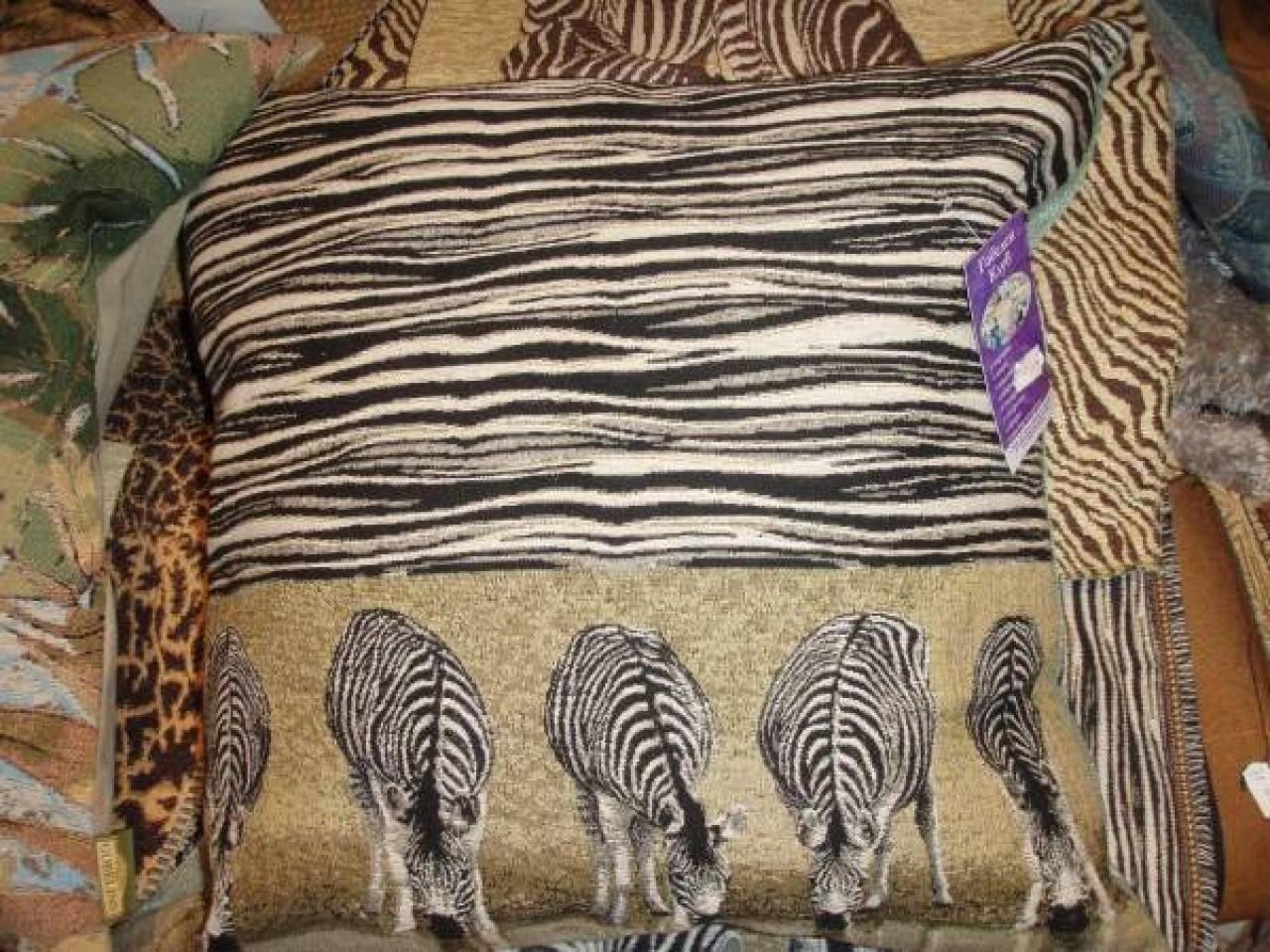 Декор зебра своими руками